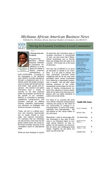 Michiana African American Business News