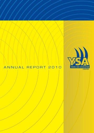YSA Annual Report - 2010