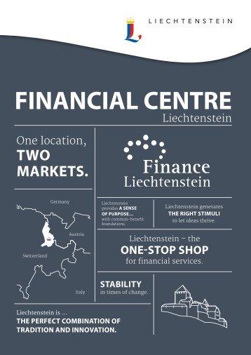 Financial Centre Liechtenstein