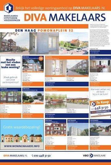 DIVA Makelaars, weekblad Zuidwesterkrant week 28