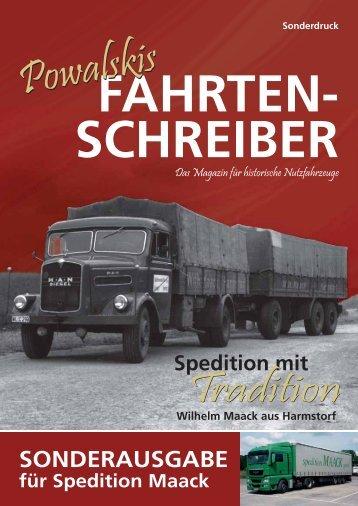 fahrten- schreiber - Spedition Maack GmbH