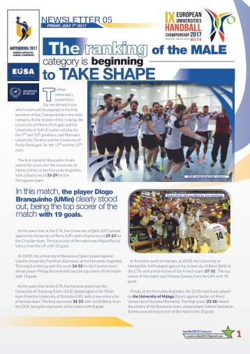 NEWSLETTER 05_EUSA Friday 7th JULY 2017