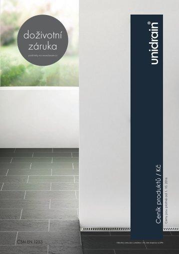 UNIDRAIN-Lavare-cenik-2016-2017_cz