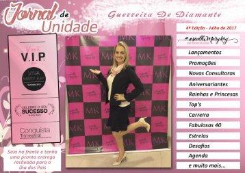 JORNAL DE UNIDADE - GUERREIRAS DE DIAMANTE 072017