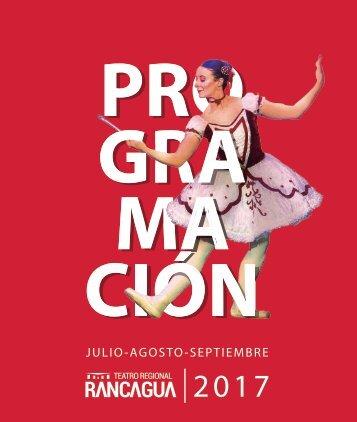 PROGRAMACIÓN TEATRO 2DA EDICION