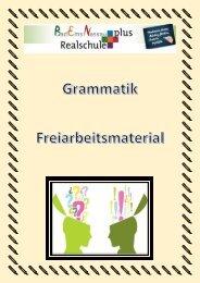 Grammatik Geheft