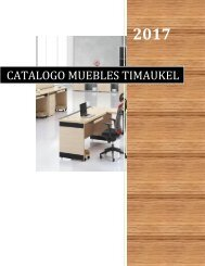 CATALOGO MUEBLES TIMAUKEL FINAL