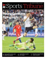 Sports supplement 24th issue
