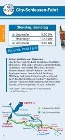 City-Schleusen-Fahrt - Reederei Lüdicke - Seite 4