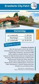 City-Schleusen-Fahrt - Reederei Lüdicke - Seite 5