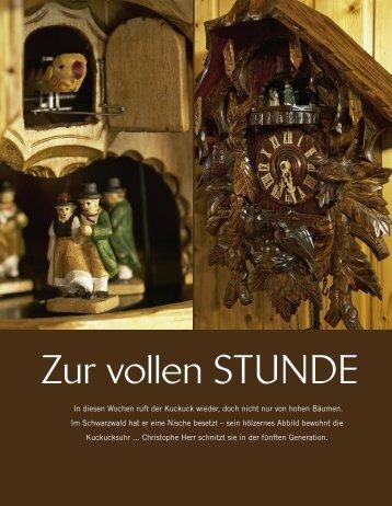 Zur vollen STUNDE - Schwarzwalduhr.de