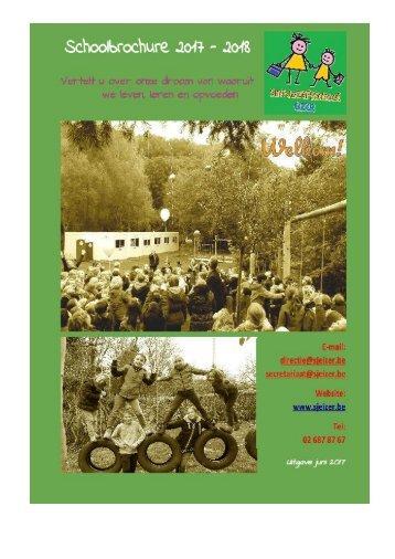 Schoolbrochure Sint-Jozefsschool 2017-2018
