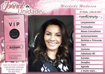 JORNAL DE UNIDADE - HADASSAH 072017