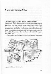 4. Forståelsesmodeller Om at bruge papiret på en anden måde