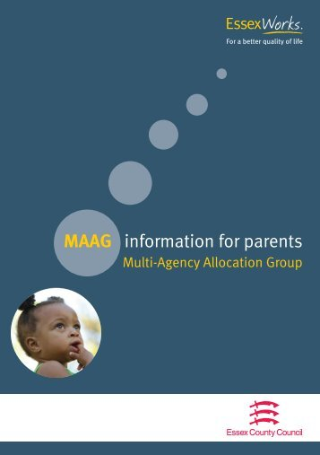 MAAG information for parents - Essex Partnership Portal