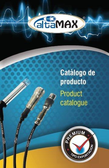 CATALOGO ALTAMAX 2017