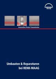 Umbauten & Reparaturen bei RENK-MAAG - RENK-MAAG GmbH
