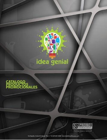 Idea Genial Catalogo PO 2017-2018