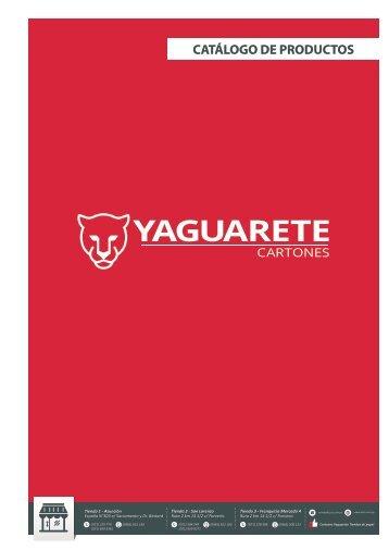 Catalogo de Productos  Cartones Yaguarete 2017 COMPRIMIDO