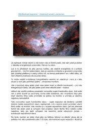 Myšlenková expozice – kvantový vesmír, existence 17.4.2017