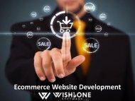 Ecommerce Website Development - Wishbone Software