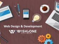 Web Design & Development - Wishbone Software