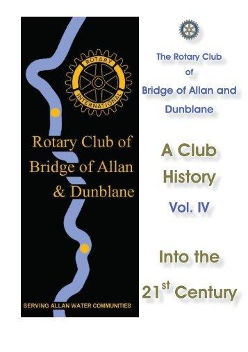Club History 1999-2014