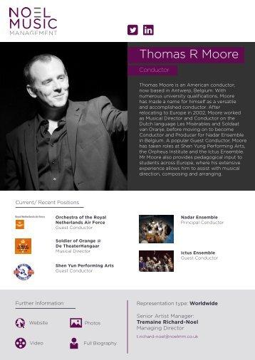 Thomas Moore Press Pack