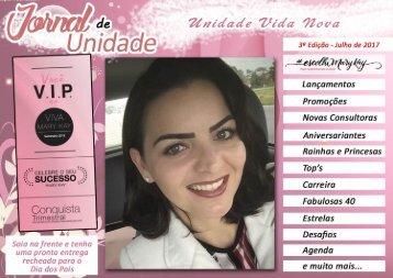 JORNAL DE UNIDADE - VIDA NOVA 072017