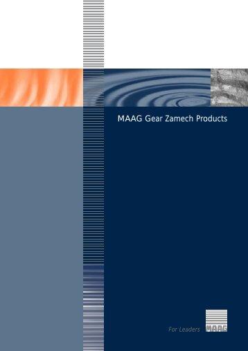 MAAG Gear Zamech Pro d u c t s