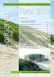 Nyt fra Søndervig - foråret 2012