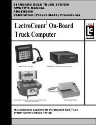 LectroCount3 Calibration Procedures Addendum - Liquid Controls