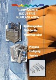 kühlanlagen - Schwämmle GmbH & Co. KG
