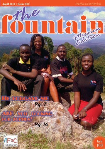The Fountain magazine Issue 02, April 2014