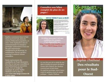 Sophie Thiébaut: Des résultats pour le Sud-Ouest