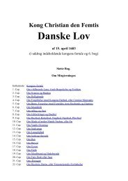 Kong Christian den Femtis Danske Lov af 15. april 1683 - Krim