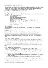 Protokoll der ASTA Sitzung vom 09.11.2010 Anwesend: Björn Maack