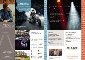 Askim kulturhus_Program Høst2017