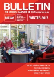 MSWA Bulletin Magazine Winter 2017