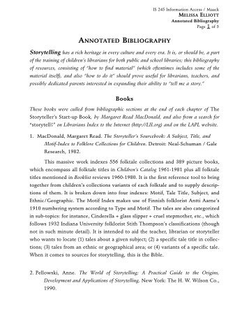 annotated bibliography of articles on media literacy This annotated bibliography is separated into two parts: secondary sources and primary sources the primary sources come straight from the community itself varying from the commander of usag stuttgart himself to articles found in their website.