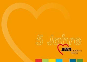 Broschüre zum Jubiläum - AWO Bamberg