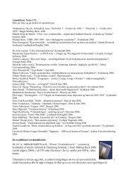 Oversigt over anmeldelser Noter 172 – deadline 21 - Emu