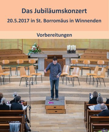 Jubiläumskonzert Winnenden 2017