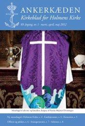 marts, april, maj 2012 - Holmens Kirke