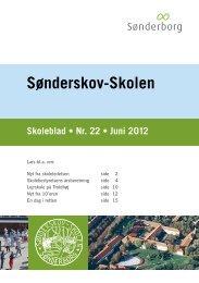 Sønderskov-Skolen Skoleblad • Nr. 22 • Juni 2012