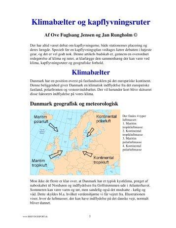 Klimabælter og kapflyvningsruter - Dansk Brevduesport