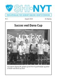 Succes ved Dana Cup - KlubCMS - DBU
