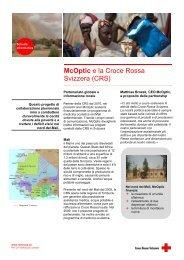McOptic e la Croce Rossa Svizzera (CRS) - McOptik