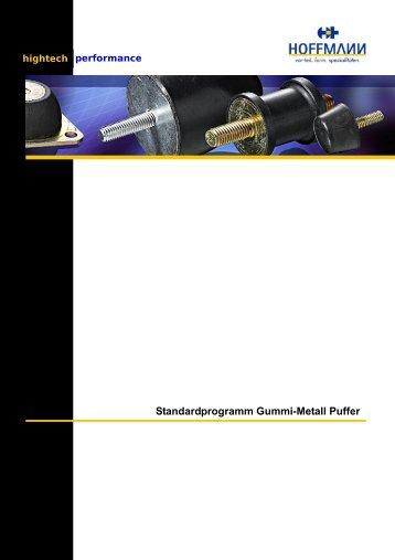 Standardprogramm Gummi-Metall Puffer - Hoffmann GmbH
