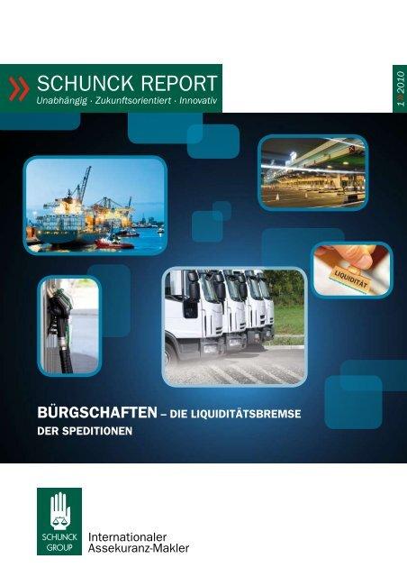 schunck report 1/2010 - Schunck Group